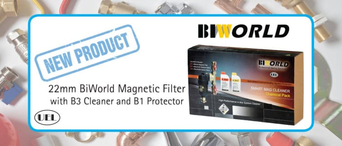 New Product Alert – 22mm BiWorld Magnetic Filter with B3 Cleaner and B1 Protector