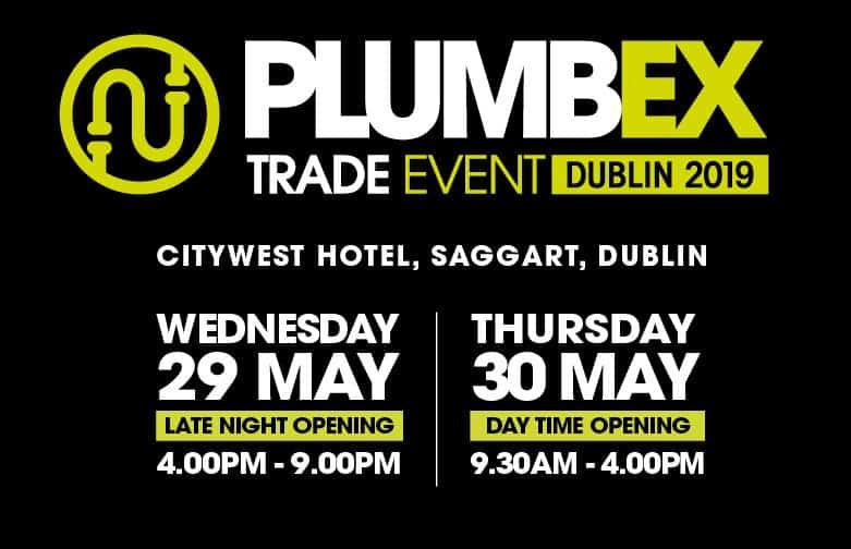PLUMBEX -DUBLIN 2019